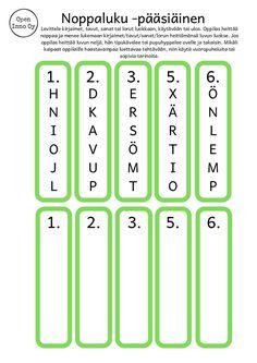Ilmainen materiaalipaketti | Open Inno Periodic Table, Education, Periodic Table Chart, Periotic Table, Onderwijs, Learning