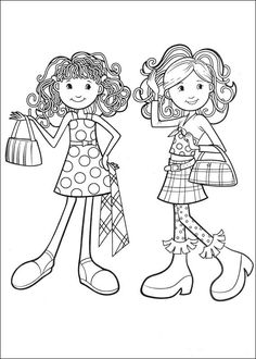 549 Best Coloring Pages Girls Images Coloring Books Coloring