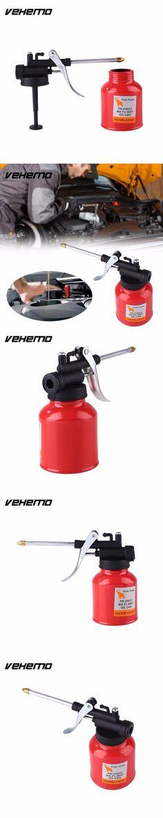 VEHEMO  250CC Paint Spray Manual Press Gun Oil Pump Cans Oiler Hose Machine For Lubricating Airbrush Lubricator Repair kit