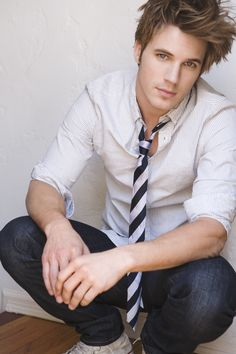 """Matt Lanter, the voice of Anakin in """"The Clone Wars"""". He also plays bad boy Liam in 90210."""
