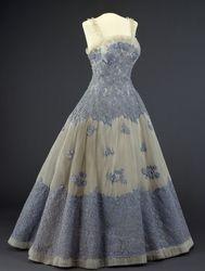 DigitaltMuseum - Evening Dress 1955