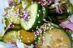 Thai inspired Cucumber Salad with an Asian Twist Recipe