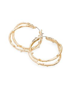 The Branching Out Hoops by JewelMint.com, $29.99