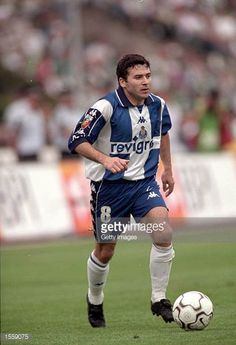 Rui Barros of Porto in action against Sporting Lisbon during the Portuguese Cup Final in the Estadia Nacional stadium in Lisbon The game finished as. Fc Porto, Lisbon, Portuguese, Action, Baseball Cards, Game, Sports, Legends, Hs Sports