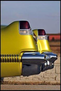 #Cadillac's vintage beauty, 1956 Coupe Deville