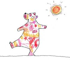 Rainbow Bear - Stephen Michael King Water Drawing, Brown Horse, Powerful Images, Book Week, Crocodiles, Journal Entries, Pictures To Draw, Literacy, Book Art