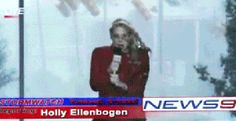 Holly Ellenbogen, is more Holy sh*t, that woman just got hitted by a stop sign, this needs to STOP!