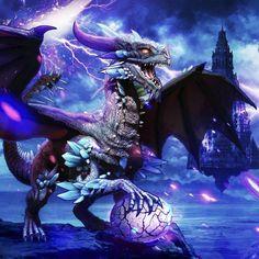 Fantasy Dragon, Fantasy Art, Dragon Poses, Coloring Book App, Colouring Sheets, Crystal Dragon, Dragon Artwork, Dragon Pictures, Happy Colors