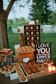 6 Awesome Dessert Signs You'll Want at Your Reception | Brides.com