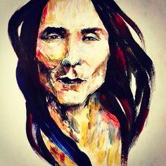 Zahn Mcclarnon, Best Actor, Actors, Portrait, Instagram Posts, Painting, Art, Drawings, Fotografia