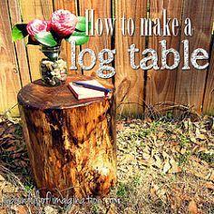 Tree Stump Transformations :: Design OCD's clipboard on Hometalk :: Hometalk