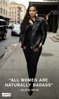 Alicia Keys, a New York City native, continues to draw inspiration from the city and its people. #LiveInLevis