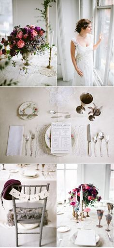 [da party] 'downton abbey' inspired wedding shoot ... for the LOVE <3   style me pretty: new york