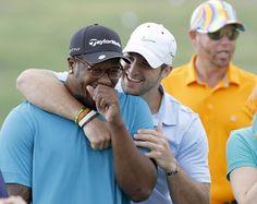 with Von Miller golf tourny 2012