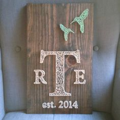MADE TO ORDER String Art Hummingbird by TheHonakerHomeMaker, $65.00