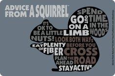 Squirrel Outline Sticker: $3.50 each