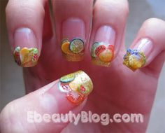 EbeautyBlog.com: Fimo Nail Art Tutorial