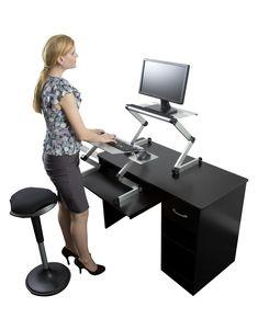 Laptop Standing Desk, Stand Up Desk At Uncagedergonomics