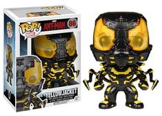 For sale is a Marvel Ant-Man Yellow Jacket Funko POP! This is NOT the glow in the dark version. Batman Figures, Pop Figures, Vinyl Figures, Action Figures, Funko Pop Marvel, Cultura Pop, Funko Pop Vinyl, Bobble Head, Marvel Cinematic