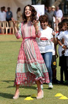 William and Kate tour India & Bhutan - Day 1 April 10, 2016 • Duchess of Cambridge