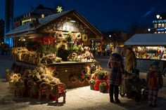 Christmas Market in Trondheim, Norway