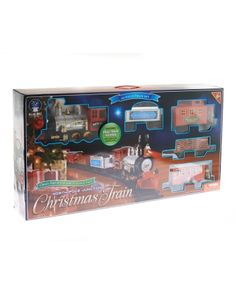 blue hat toy company north pole junction christmas train set - North Pole Junction Christmas Train