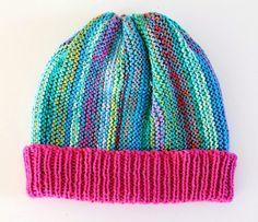 GREITZAN: Lika restgarnsmössor men ändå olika Knitting For Kids, Baby Knitting, Stick O, Rose Buds, Knitted Hats, Knit Crochet, How To Wear, Men, Knits