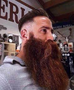 """ Worth a second look. The length is beautiful and full. One of my top choices for the best full beard I have ever seen. Hope you agree. Beards And Mustaches, Badass Beard, Epic Beard, Full Beard, Brown Beard, Red Beard, Long Beard Styles, Hair And Beard Styles, Great Beards"