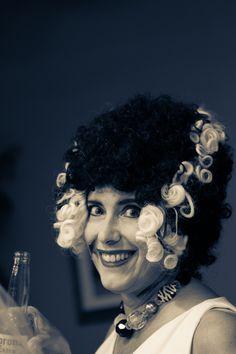 Curly Que Bride...