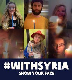 In de aanloop naar 15 maart worden er wereldwijd bij zonsondergang wakes gehouden in tientallen landen, dit om aandacht te vestigen op het 3 jaar durende conflict in Syrië. Help ons ervoor te zorgen dat de boodschap van de wake de wereld overgaat. Deel een foto van jouw wake op Twitter of Facebook met #WithSyria of upload jouw foto op http://www.flickr.com/groups/WithSyria