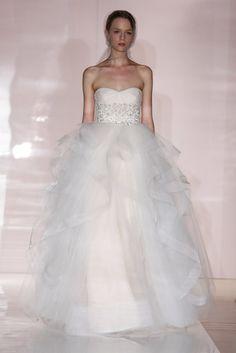 Reem Acra Bridal Fall 2014: