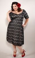 SWAK uses plus-sized models, bless their hearts, and even have some vintage fashions. @Crystal Chou Chou Chou Gellenthin