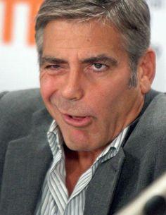 Georges Clooney - Grimaces de star !