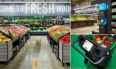 Inside Amazon's first grocery store opening this week