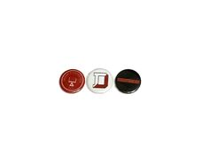 Denison Small Spirit ButtonsComes as a set of three