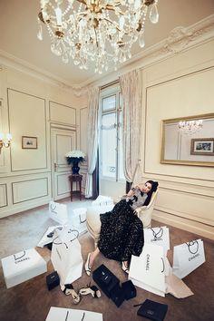 Paris Indulgence: Vogue Taiwan June 2016 Annie Chen by Baard Lunde - Chanel