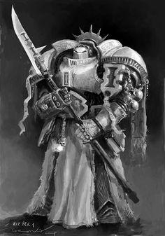 Warhammer 40000,warhammer40000, warhammer40k, warhammer 40k, ваха, сорокотысячник,фэндомы,Grey Knights,Space Marine,Adeptus Astartes,Imperium,Империум,sketch