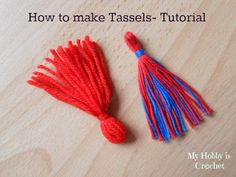 How to make a tassel- A step by step tutorial