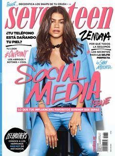 Zendaya en portada en Noviembre 2016 para Seventeen México