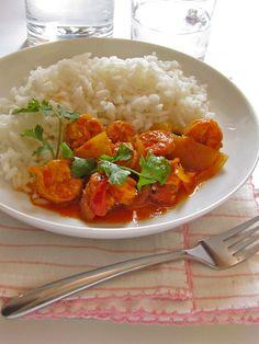 Plateful: Fiery Red Prawn Curry — Chemmeen Mulakittathu