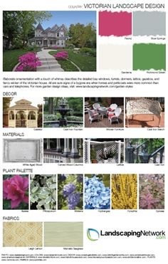 Get more ideas for your Victorian garden makeover with this printable, high-res inspiration guide to the style: http://www.landscapingnetwork.com/garden-styles/Victorian-Landscape-Design.pdf