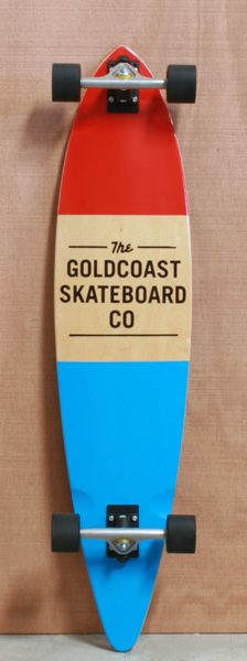 """GoldCoast 44"""" Standard Red Longboard Complete. Christmas Gift  PLEASE"""