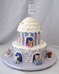 Littlest Pet Shop by Cake Diane Custom Cake Studio (eyedewcakes), via Flickr