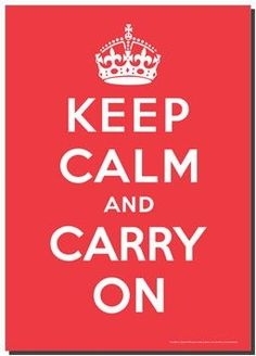Wonderful poster from WWII recently discovered at Barter Books. This sage advice led to all the other Keep Calm and carry on. British Literature, Old Quotes, Keep Calm, Wwii, Quotes To Live By, Carry On, Inspirational Quotes, Thoughts, My Love