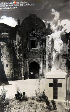 Iglesia de San Sebastian de Analco hacia 1930-1950