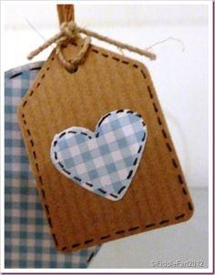 Heart tag.
