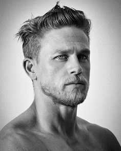 """Charles Matthew """"Charlie"""" Hunnam (born 10 April is an English actor. Charlie Hunnam, Style Masculin, Hommes Sexy, Attractive Men, Good Looking Men, Moustache, Haircuts For Men, Gorgeous Men, Pretty People"""