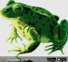 New Puzzle, Perler Bead Art, Cross Stitch, Pictures, Fictional Characters, Toad, Animals, Dressmaking, Projects
