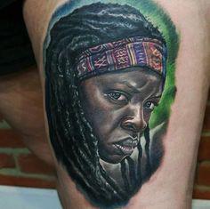 Sélection de 15 tatouages sur l'univers de The Walking Dead | Inkage