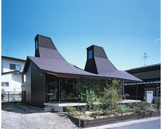 Nora House, Atelier Bow Wow.  Incredible play on vernacular housing.